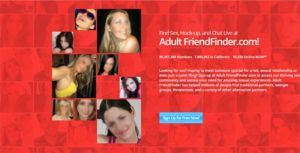 AdultFriendFinder Signup