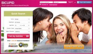 BiCupid Homepage