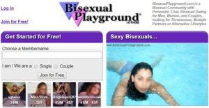 BisexualPlayground Homepage