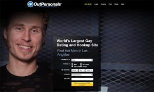OutPersonals Homepage